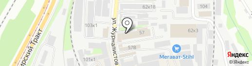 КазаньСтройМаркет на карте Казани