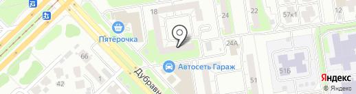 Казанка 18, ТСЖ на карте Казани