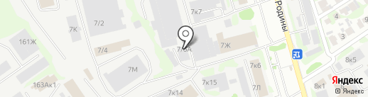 РусГаз на карте Казани