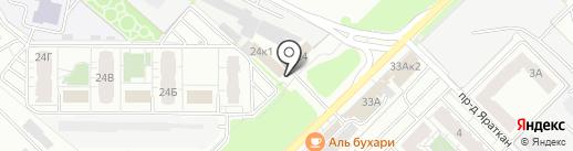 Стразы Казани на карте Казани