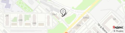 Технология уплотнения на карте Казани