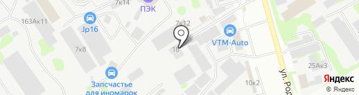 Автомойка на карте Казани