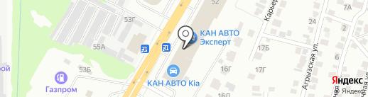 Татсоцбанк на карте Казани