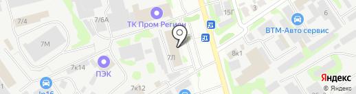 ТатКардан на карте Казани