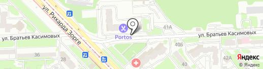 Автостоянка, ВОА на карте Казани