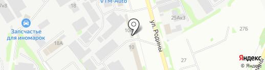 Буфет на карте Казани