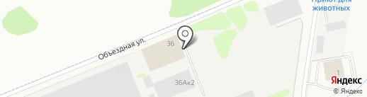 Денса Трак на карте Столбища