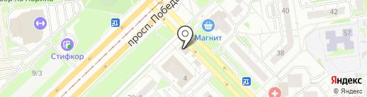Магазин цветов на карте Казани