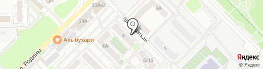 Грань на карте Казани