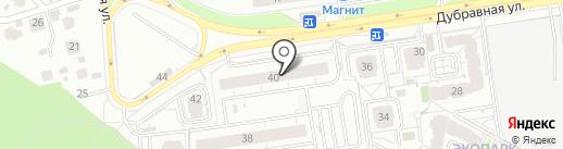 Дубрава, ТСЖ на карте Казани