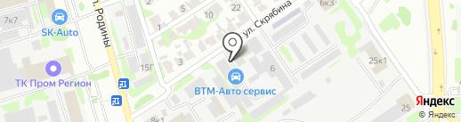 Вельвет на карте Казани