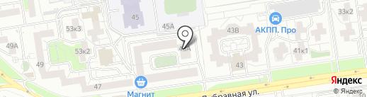 Дубки, ТСЖ на карте Казани