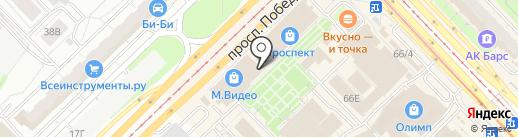 Джунгли на карте Казани