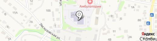 Сказка на карте Столбища