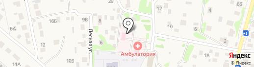 Столбищенская стоматологическая поликлиника на карте Столбища