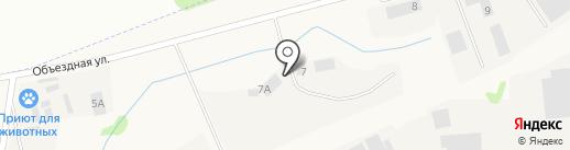Аннома паркинг на карте Столбища