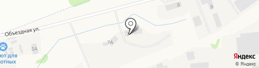 У Аэропорта на карте Столбища