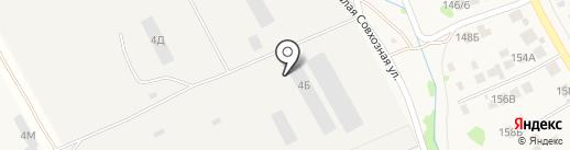 Казанский завод профильных труб на карте Столбища