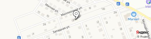Хозяин на карте Приморского
