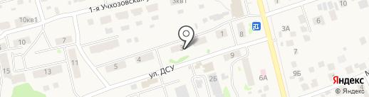 Беркана на карте Усадов