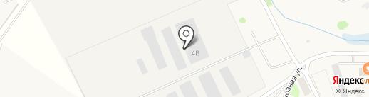 ЛАЗЕРГИБ на карте Столбища