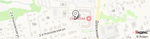 Спецкаучукремстрой на карте Усадов