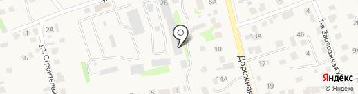 Усадские блоки на карте Усадов