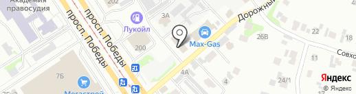 MotoRR на карте Казани