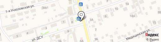Киоск фасфудной продукции на карте Усадов