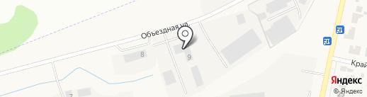 Сетевая компания на карте Столбища