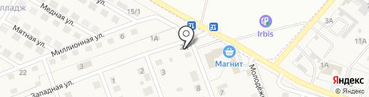 В Приморском на карте Приморского