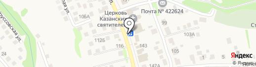 Киоск по продаже печатной продукции на карте Столбища