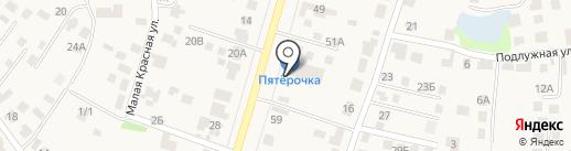 Нотариус Татаренко И.Н. на карте Столбища