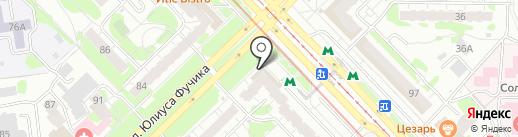 Светодиоды Казани на карте Казани