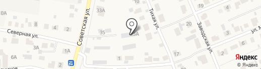 Кентавр на карте Столбища