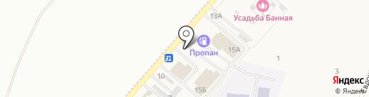 Магазин строительно-отделочных материалов на карте Приморского
