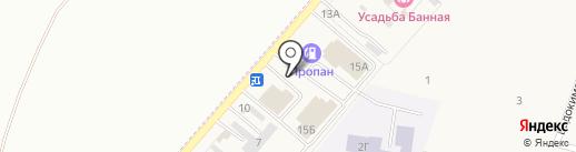 Торгово-строительная компания на карте Приморского