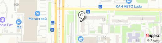 Сауна на карте Казани