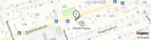 Джумана на карте Казани