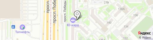 Алар на карте Казани