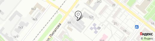 Механики на карте Казани