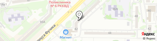 Ремонтный центр велосипедов и детских колясок на карте Казани