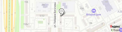 Студия красоты Леонида Куриленко на карте Казани