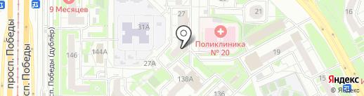 Копицентр на карте Казани