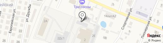 КВИСТ на карте Приморского