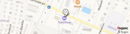 Пивоваренный завод Бауернхоф на карте Приморского