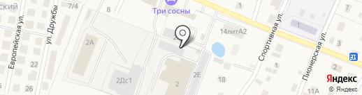 Атриум на карте Приморского