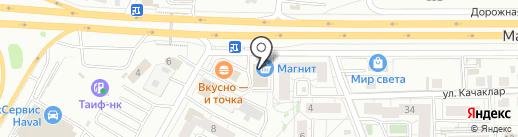 Правильный дом на карте Казани
