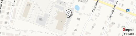 Фрост на карте Приморского