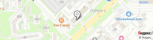 Риа на карте Казани